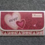 Плик за пари Сърца