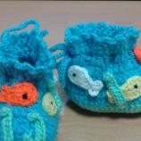 Бебешки/детски плетени забавни терлички