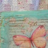 Дървено пано Пеперуда