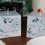 Комплект декоративни свещи