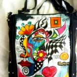 Рисувана чанта-1