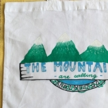 Торбичка от плат Планини
