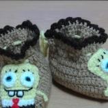 Бебешки/детски забавни плетени терлички