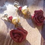 Обеци Прелестни рози