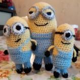 Ръчно плетени Миньони