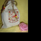 Торбичка от плат с принт шевица