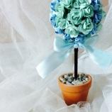 Топиарии дърво на щастието рози