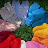 Ръчно плетени чорапи от традиционална българска вълна
