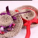Плетена брошка