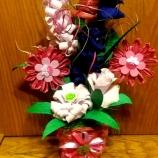 Букет с цветя от хартия