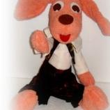 Оранжево кученце момченце