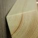 buy Закачалка от дърво и медни тръби ръчна изработка in Bazarino