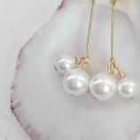 Обеци с перли