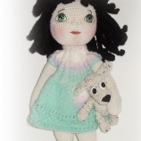 Плетена кукла Анна