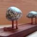 buy Закачалка — махагон, мед, и камък /ръчна изработка/ in Bazarino