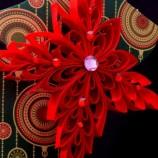 Червена снежинка