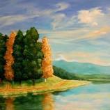 Пейзаж.Маслена картина.