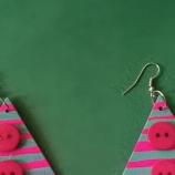 Коледни елхички  с копчета