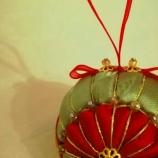Коледна украса - топка
