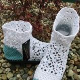 Ръчно изработени дамски боти Handmade ladies boots