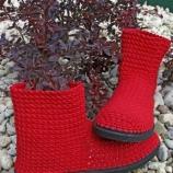 Ръчно изработени дамски боти/ Handmade ladies boots