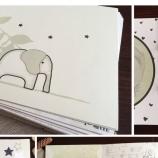 Дизайнерски албум дневник за първата година