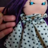 Ръчно изработена декоративна кукла