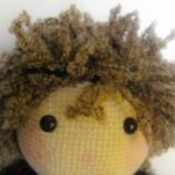 Ръчно плетена кукла Роксана