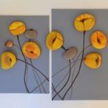 Комплект декоративни пана с рисувани камъчета