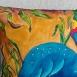 buy Декоративна ръчно рисувана калъфка за възглавница 40 х 40 см in Bazarino