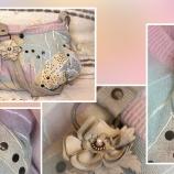 Малка плетена чанта