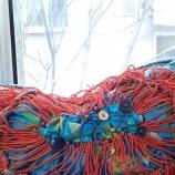 плетена пролетна чанта