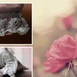 Розова романтична чанта
