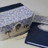 Куфарче за съхранение и тефтер