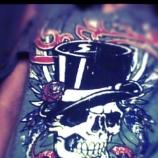 Тениска с яки ракави