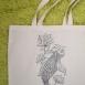buy Ръчно рисувана чанта - риба in Bazarino