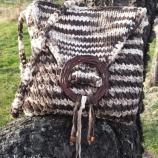 Плетена памучна чанта Етно