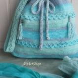 Плетена памучна торба
