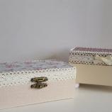 Декорирани кутийкии от мдф и дърво
