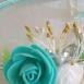 buy 2 комплекта диадема и гривна с цветя in Bazarino