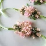 3 комплекта от диадеми и гривни с цветя
