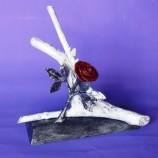 декорация с роза
