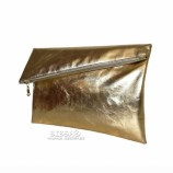 Square clutch #145_gold
