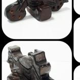 Мотор сувенир от глина