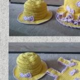 Комплект рокля и шапка