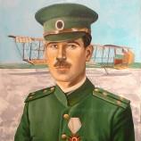Портрет на авиатора Радул Милков.