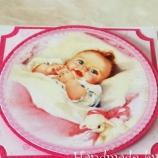 Бебешка кутийка-картичка за момиче