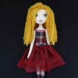 Дейзи - текстилна кукла