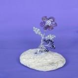 цвете от аметист