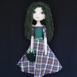Джорджиана - текстилна кукла